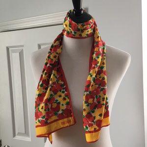 Beautiful Bill Blass silk scarf.